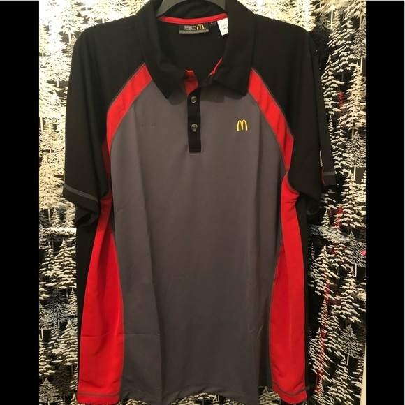 Tops - McDonald's work shirt free in bundle